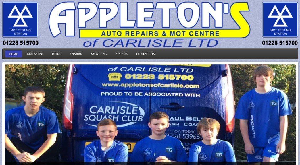 Car and vehicle sales website design