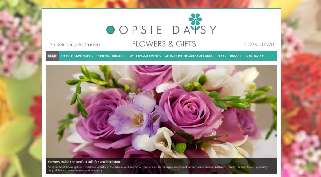 Easy to use ecommerce website design in Carlisle, Cumbria and the UK