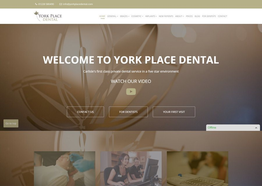 Brampton Website Design from only £10 per month